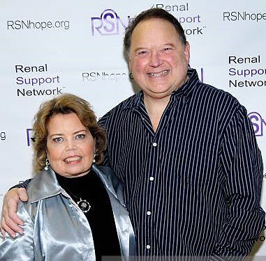 Stephen Furst friend and Renal Support Network supporter - renal teen prom