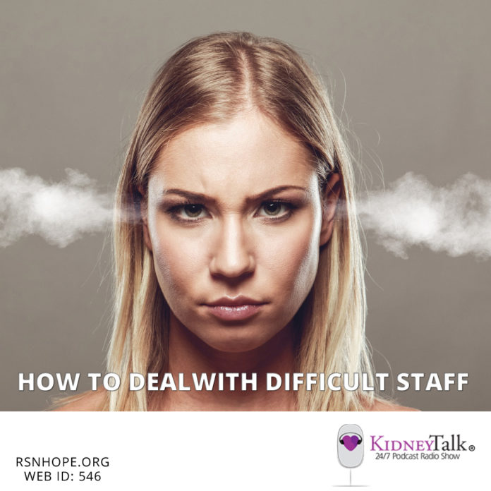How to deal with difficult Staff