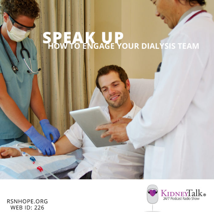 Engage Your Dialysis Team - Kidney Talk