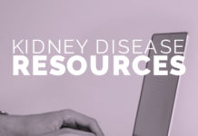 Resources for people who have kidney disease