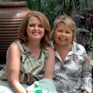 Lori Hartwell and Cher Thomas at Renal Support Network Support Group Meeting in Glendale Ca.