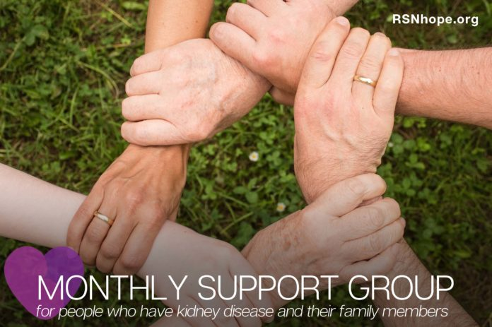 kidney disease support group and patient education meetings