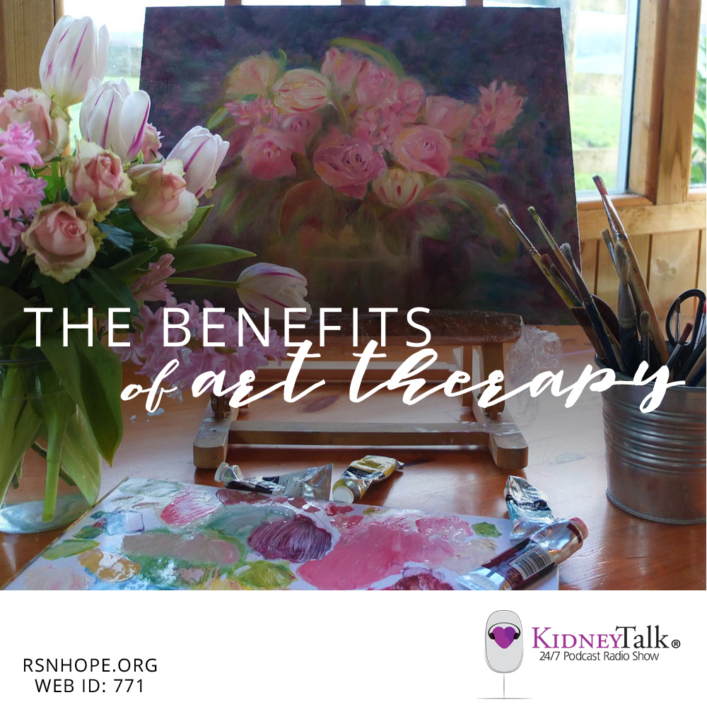 Art Therapy Benefits for people on dialysis