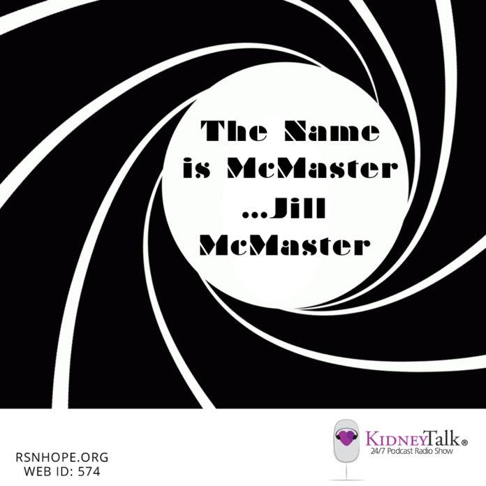 kidney exchanges - Jill McMaster - kidney talk