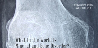 Mineral and Bone Disorder - kidney talk