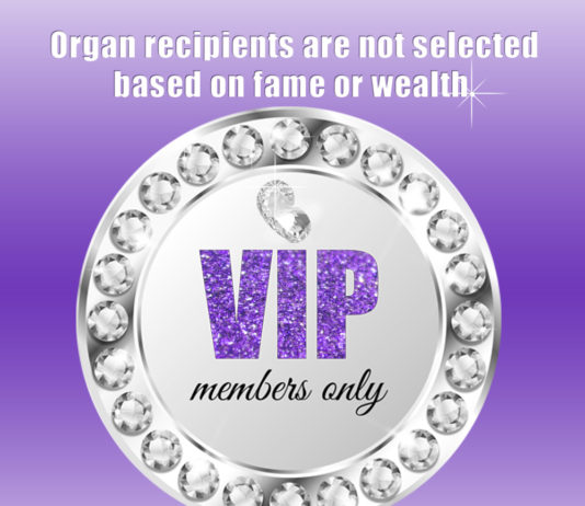Organ Donation Myths - Organ Donation and Wealth - Wealthy organ recipient