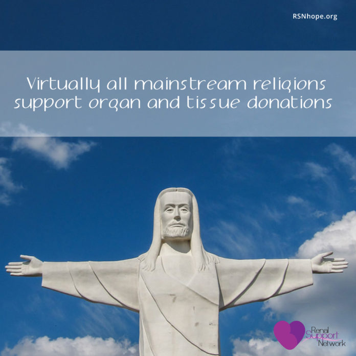 all religions allow organ donation