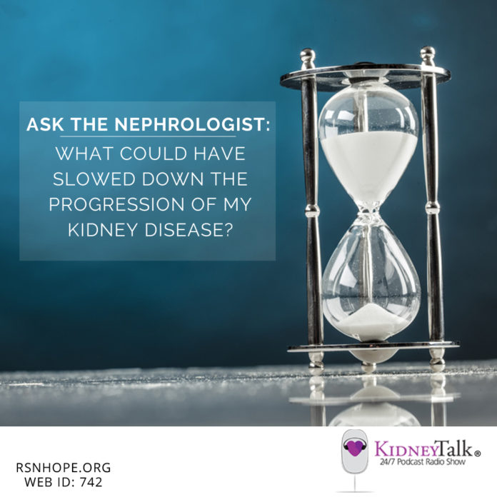 slowing the progression of kidney disease