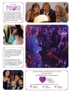 kidney disease teen prom