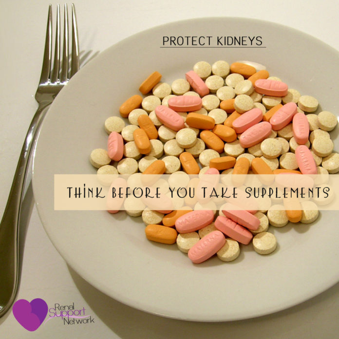 protect kidneys - supplements