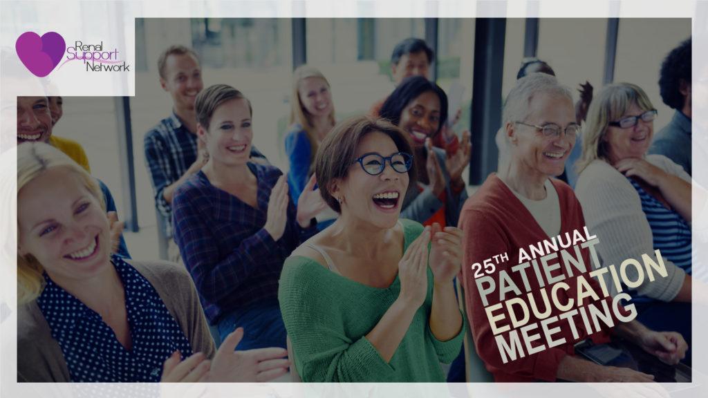 kidney disease patient education meeting