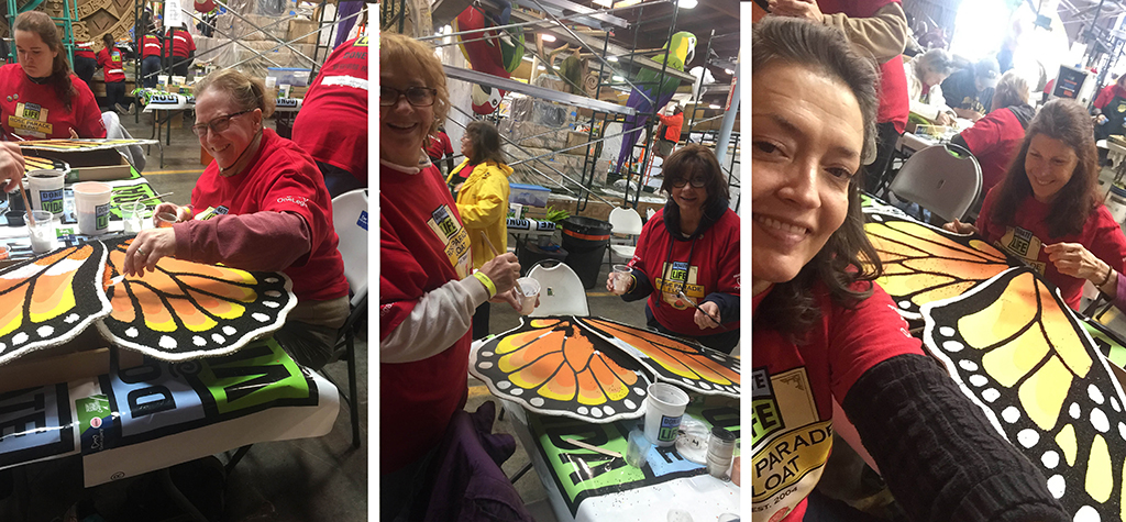 Donalelife - rose parade float - OneLegacy - Renal Support Network