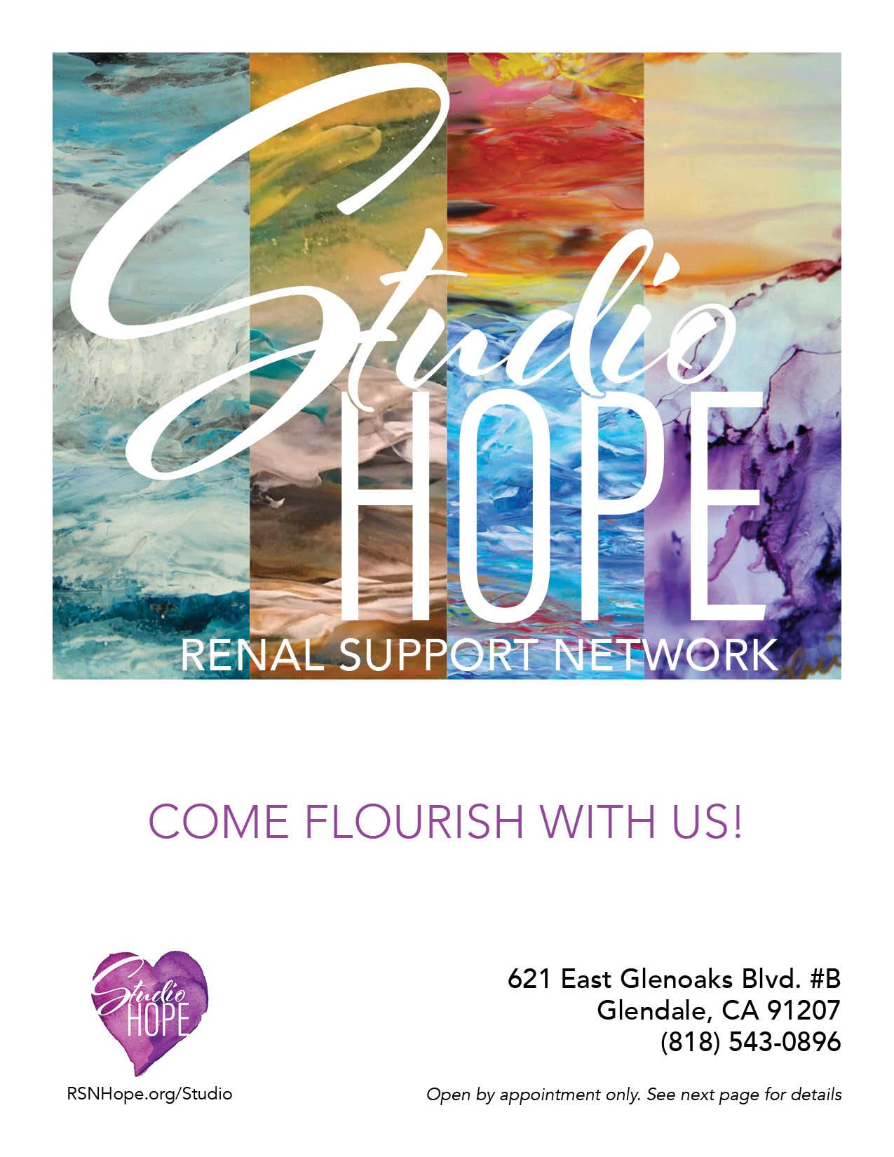 Studio Hope Flyer - download