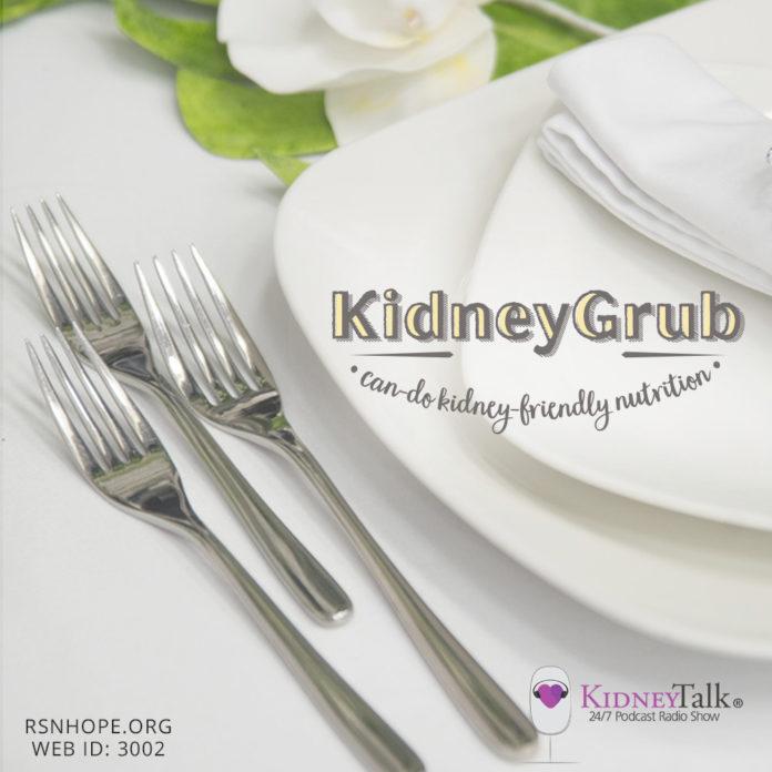 kidney diet - KidneyGrub - KidneyTalk