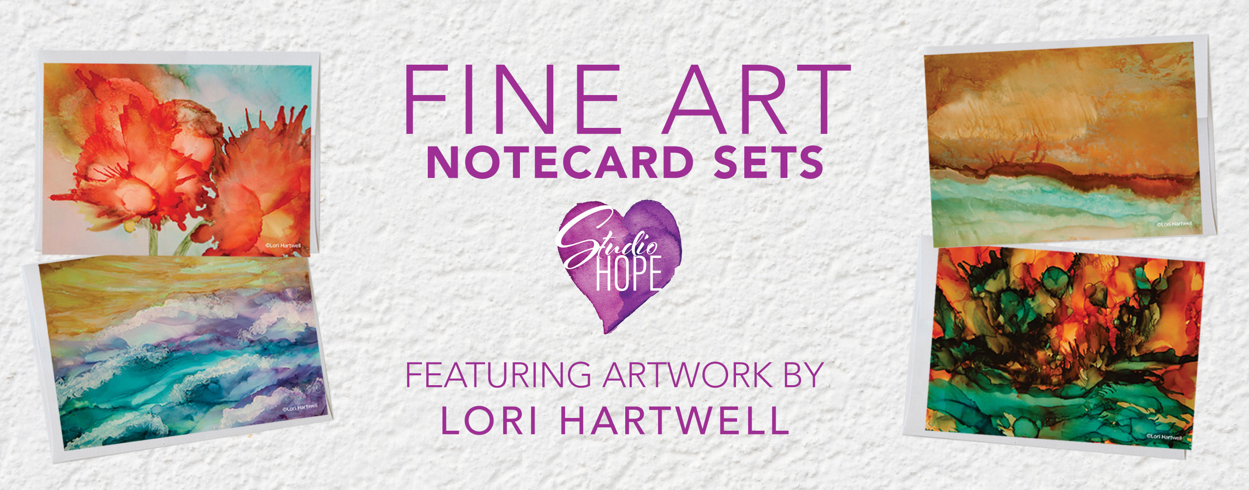 Fine art note cards - Lori Hartwell