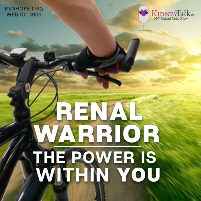 Wilson Du -Renal Warrior - Losing Weight - kidney transplant