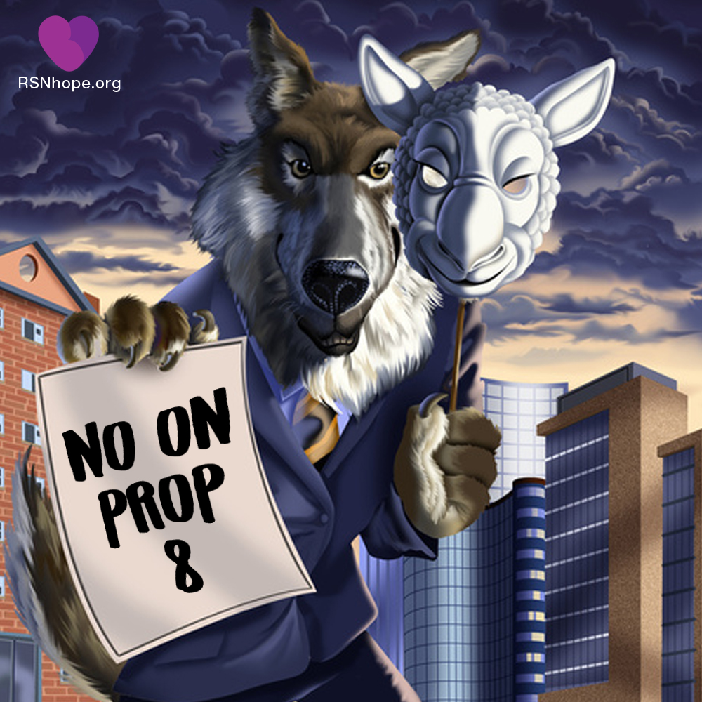 vote no on prop 8 a wolf in sheep s clothing renal support network